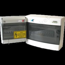DC túlfeszültség védelem földeletlen napelemes rendszerekhez 2MPPT