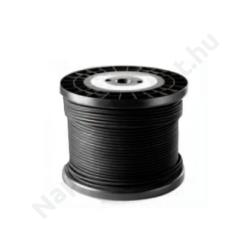 Szolár kábel tekercs 500m 1x10 mm2 fekete