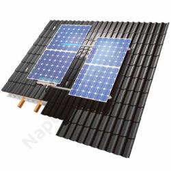 Szerelőkeret szett 2 db napelem modulhoz