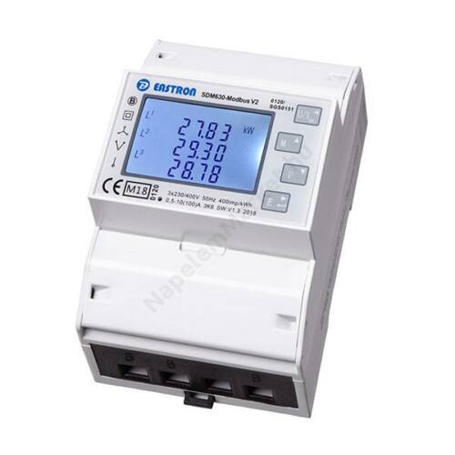 3 Fázisú fogyasztásmérő Solax hibrid inverterekhez