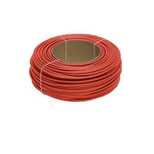 Szolár kábel tekercs 100m  1x4 mm2 piros