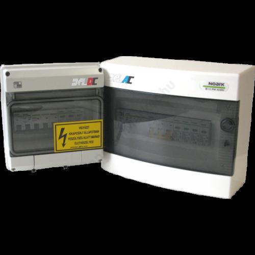 AC egy fázisú két pólusú 32A-s kapcsolóval 32A-s kismegszakítóval hálózati csatlakozó doboz